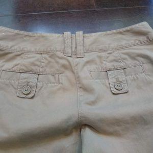 LOFT Shorts - Ann Taylor Loft | Bermuda Khaki Shorts